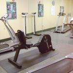 Enjoy a workout in our 24hr Fitness Area.