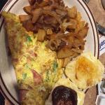 Western omelet. Mmmmm!!