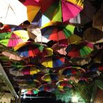 umbrellas as decor