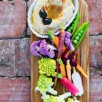 Hummus and Local Veggie Crudité