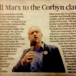 Evening Standard Article on Marx Walks