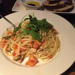 Citrus Chicken Spaghetti & Rosemary Bread