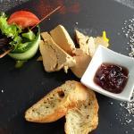 foie gras van het huis