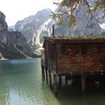 Blick von hinter dem Bootshaus über den See! Auslöser der ganzen Reise und selbst fotografiert!