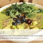 King Kale Fresh Fruit Smoothie Bowl