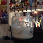 Great bar and great Guinness