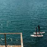 Paddle Boarding in Humpy Cove