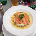 Saumon a la florentine