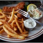 Rockfish and chips