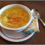Very good egg flower soup