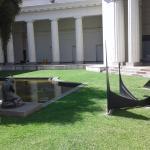 Esculturas en el Jardin interno