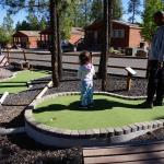 Great mini golf course! better than the in town one by far!