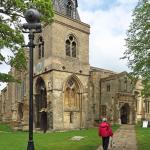 Approaching the chapel