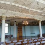 Stuckdecke im Festsaal von Stuckateuer Daniel Anckermann 1620