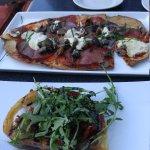 Appetizers - handmade flatbread & BLT Brioche