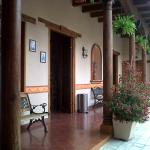 Patio y Restaurante.
