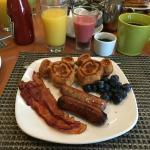 It was a good breakfast!