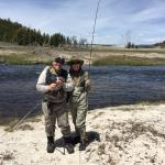 My Girl and our Guide Kerry Almond at Fountain Flats