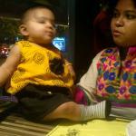 Saumyaa and Neha picture Ikobo sizzlers ahmedabad