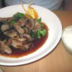 Rose Duck Breast in Red Wine Sauce
