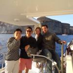 Sailing with the amazing Caldera 2 crew