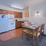 Two Bedroom Kitchen - the kitchen includes, full refigerator, dishwasher, microwave, and oven