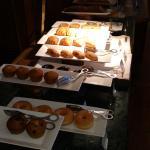 Bread section in Breakfast