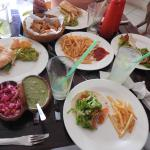 Our lunch at El Caballo Blanco