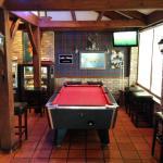 Pool Table & Dart Area