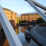 Castlefield - around the corner from the hostel