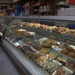 Pasticceria from the inside - selection of goodies