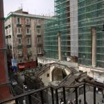 View from room at Piazza San Gaetan & Basilica di San Paolo Maggiore