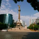 A view up Reforma with the St. Regis to the right.