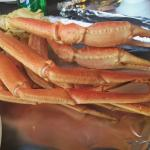 My first crab legs! :D