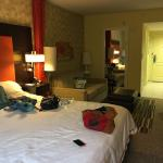 clean, new & cozy!! George at the front desk was SO friendly, service is amazing! feels like ur