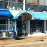 Cosmos offers traditional Greek cuisine.
