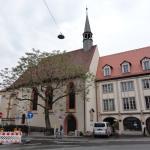 ビュルガーシュピタールの建物につながる教会