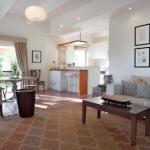 Olive cottage interior