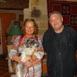 le patron, Brigitte et son kakou!