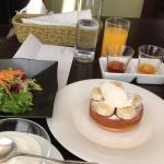 Colazione con plumcake