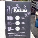 Prices for Kuzina restaurant.
