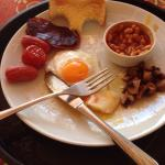 Forgot to take a picture of my breakfast before I nearly demolished it - Anyways, it was delicio