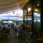 View outside restaurant