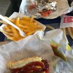 Gyro, Cheese Fries, & Polish