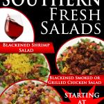 Theres no salad out there like our line of Southern Fresh salads