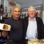 Sorry about the focus! Just bought a slice of the famous carrot cake.