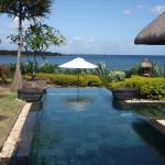 Our private pool with a view!
