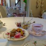 Cream Tea at Jacqueline's Tea Room
