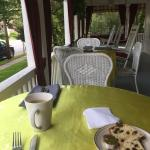 Breakfasts on the porch