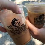 Iced Mocha Nut and Iced Honey Badger = YUM!